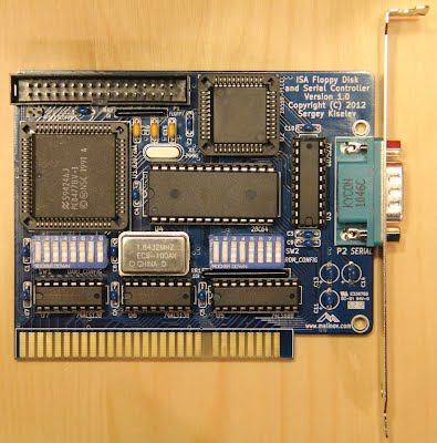 ISA Floppy Disk and Serial Controller - Malinov Family Web