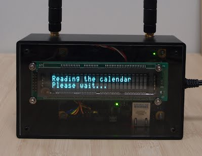 Internet connected calendar using intel galileo malinov family web you have a calendar application on your computer or a smartphone but sometimes it might be useful to make it easily viewable to others or even to solutioingenieria Choice Image